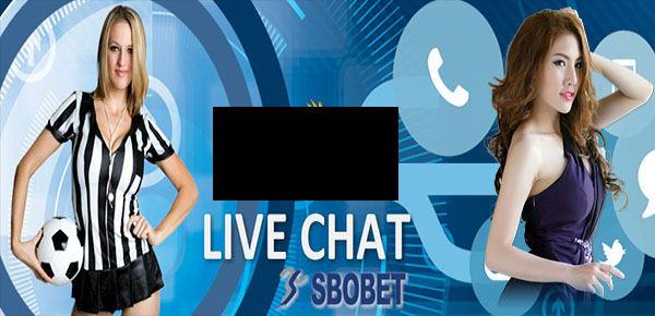 belajar memakai live chat sbobet